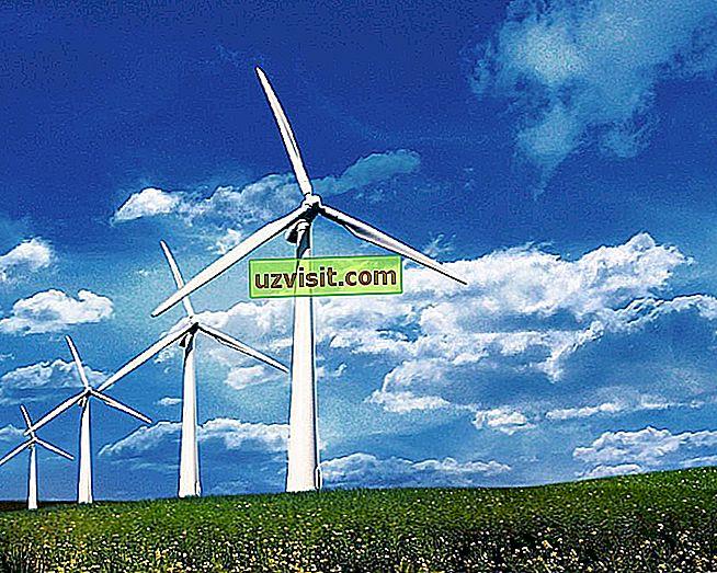 znanosti - Energija vetra