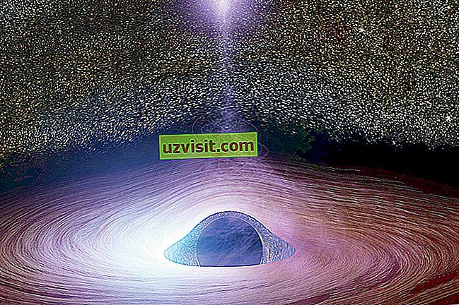zinātne - Melns caurums