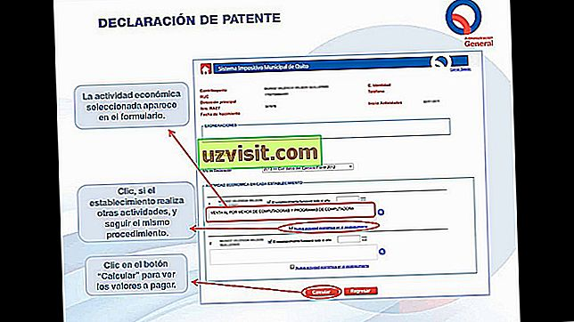 Patent - richtig