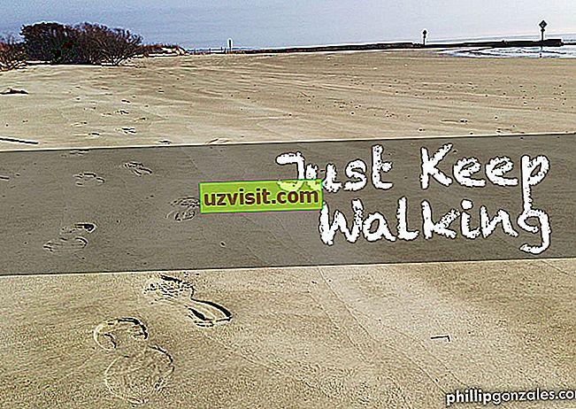 Tiếp tục đi bộ
