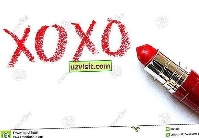 izrazi na engleskom jeziku - XOXO