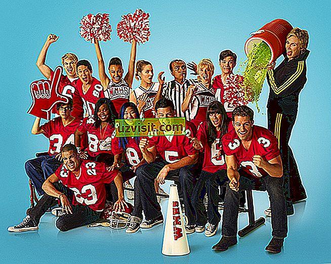 izteiksmes angļu valodā - Glee