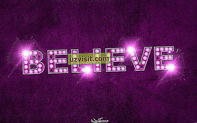 výrazy v angličtine - veriť
