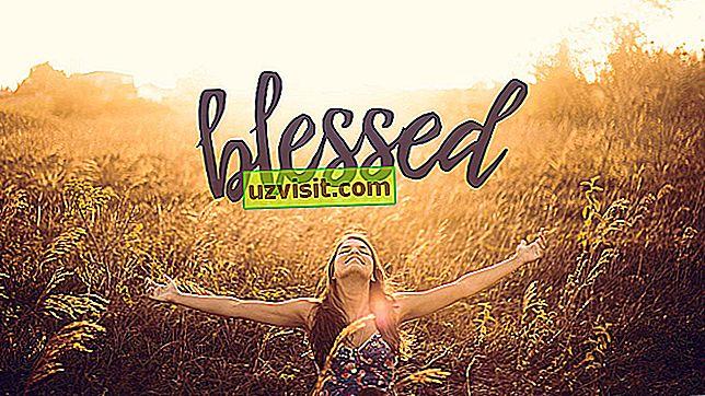 благословен - изрази на английски език
