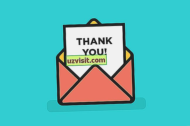 Bedankt en bedankt - uitdrukkingen in het Engels