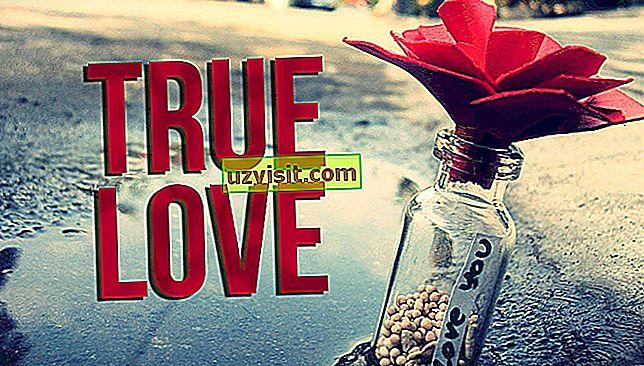 ungkapan dalam bahasa Inggeris - Cinta Sejati