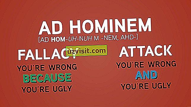 "Lotyniškos išraiškos - ""Ad hominem"""