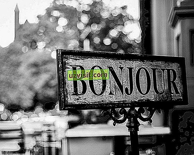 általános: Bonjour