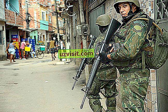 Vojaška hierarhija v Braziliji
