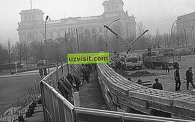 Berlínsky múr - všeobecný