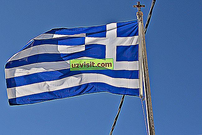 Betydelsen av Greklands flagga