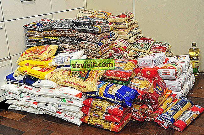 yleinen - Ei-pilaantuvat elintarvikkeet