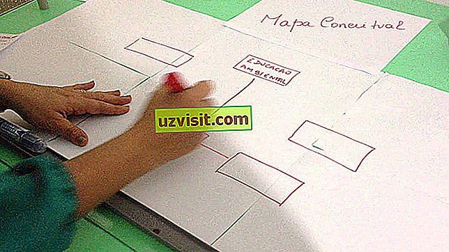 Концептуална мапа