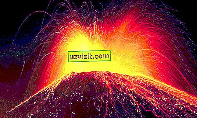 allmänna: vulkanism
