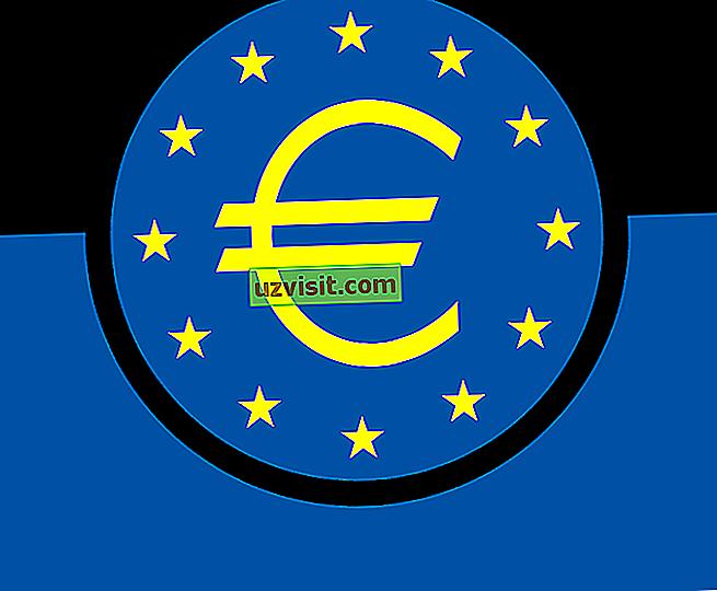 Simbolo dell'euro - generale