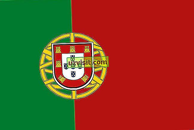 Signification du drapeau portugais - général