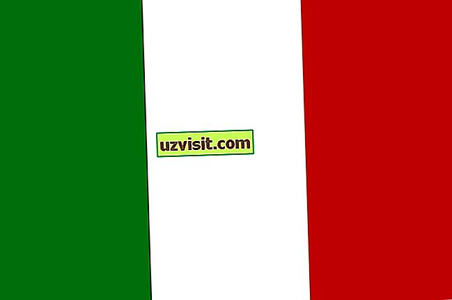 obecně: Význam italské vlajky