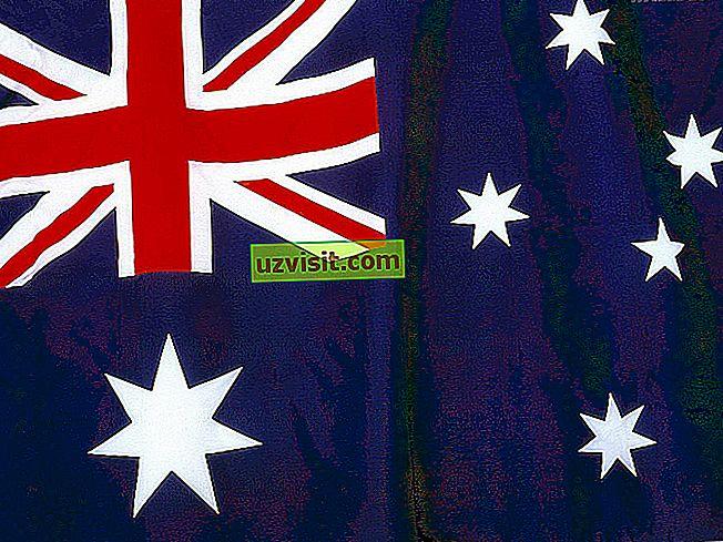 vispārīgi - Austrālijas karoga nozīme