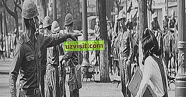 opći: 5 Obilježja vojnih diktatura