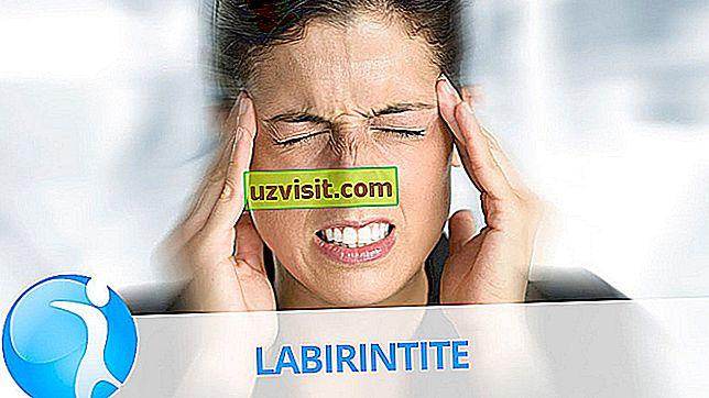 lekárstvo - labyrinthitis