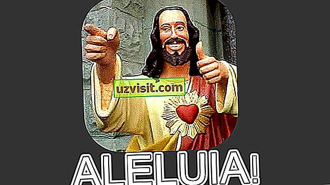 religione: hallelujah