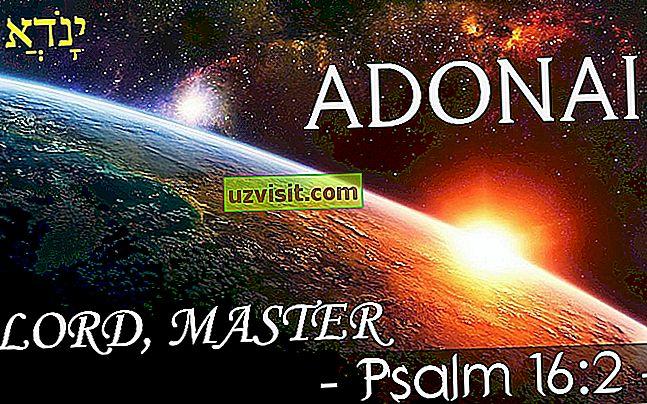 religius: Adonai