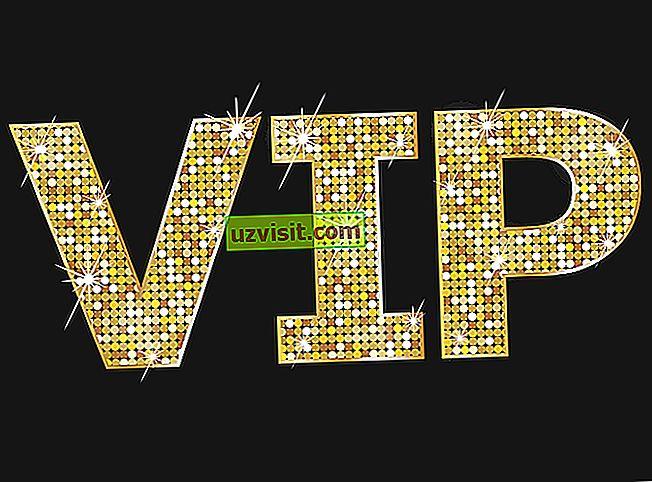 VIP - kratice