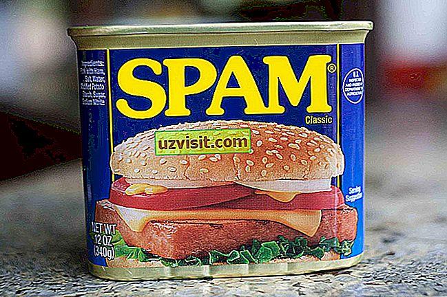 lo spam - tecnologia